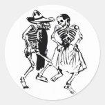 Dancing Calaveras Sticker