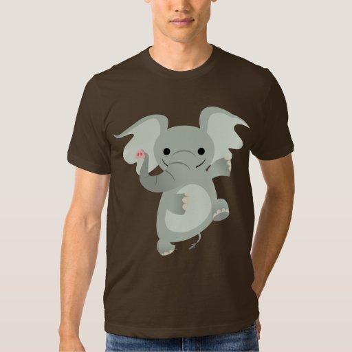 Dancing Cartoon Elephant T-Shirt