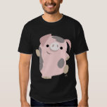 Dancing Cartoon Pig T-Shirt