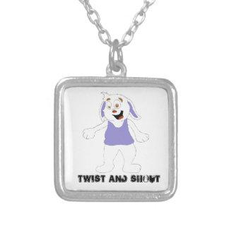 Dancing Cartoon Rabbit Custom Jewelry
