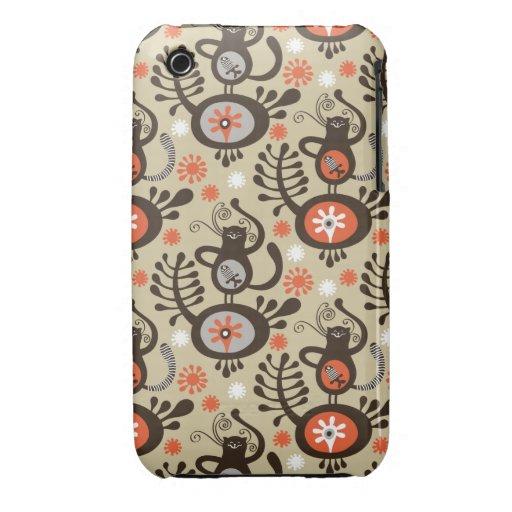 Dancing cat iPhone 3 case