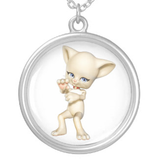 Dancing Cat Necklace