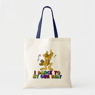 Dancing Cat Tote Bag