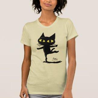 Dancing Cat Tshirt