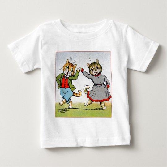 Dancing Cats Baby T-Shirt