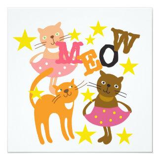 Dancing Cats Card
