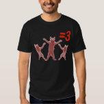 dancing cats equals 3 T-Shirt
