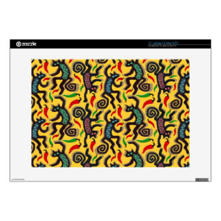 "DANCING CATS LARGE POSTER 1.jpg 15"" Laptop Skins"