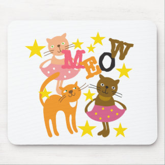 Dancing Cats Mouse Pad