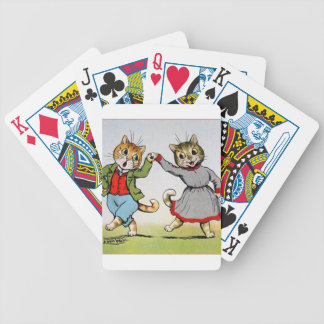 Dancing Cats Playing Cards