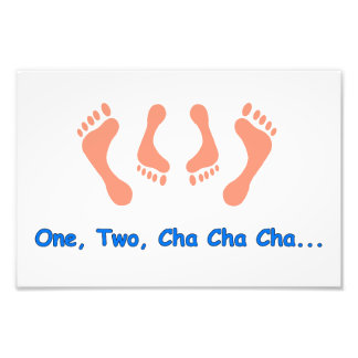 Dancing Cha Cha Feet Photograph