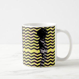 Dancing Cherub Pop Art Mug (Yellow)
