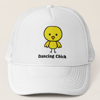 Dancing Chick Trucker Hat