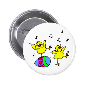 Dancing chickens buttons