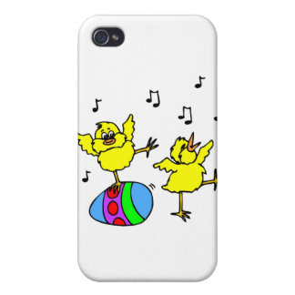 Dancing chickens iPhone 4/4S covers