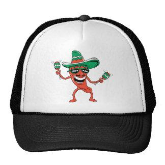 Dancing Chili Pepper Trucker Hat