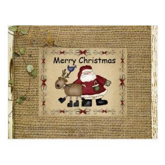 Dancing Christmas Card Postcards