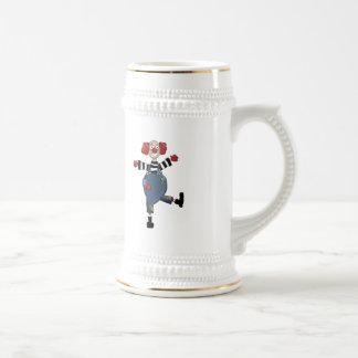 Dancing Circus Clown Coffee Mug