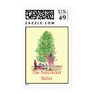 Dancing Clara Nutcracker tees & Gifts Postage Stamp