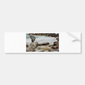 Dancing Coastal Rock Bumper Sticker