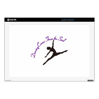 Dancing Comes From the Soul Laptop Decal