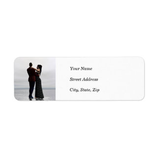 Dancing Couple Address Labels