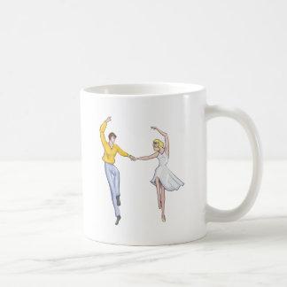 Dancing Couple Classic White Coffee Mug
