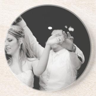 Dancing Couple Beverage Coaster