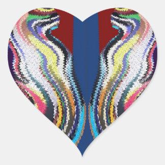 Dancing Couple - Happy Dance Heart Sticker