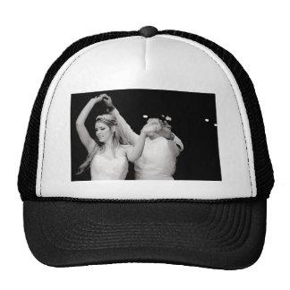 Dancing Couple Mesh Hats