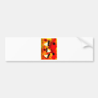 Dancing couple in wedding party bumper sticker