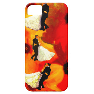 Dancing couple in wedding party iPhone 5 covers