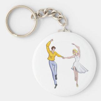 Dancing Couple Keychain