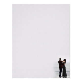Dancing Couple Letterhead Stationery