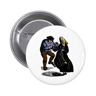 Dancing Couple Pin