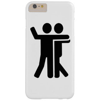 Dancing couple symbol barely there iPhone 6 plus case