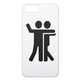 Dancing couple symbol iPhone 8 plus/7 plus case