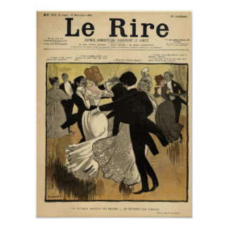 Dancing Couples Poster