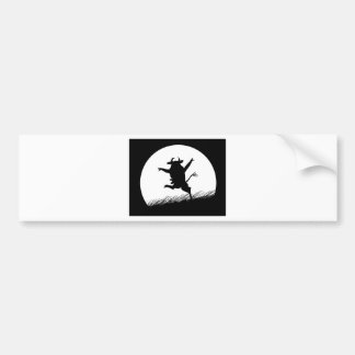 Dancing Cow Bumper Stickers