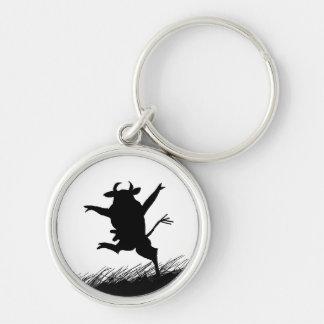 Dancing Cow Keychain