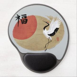 Dancing Crane Mousepad (Gel) Gel Mouse Pad
