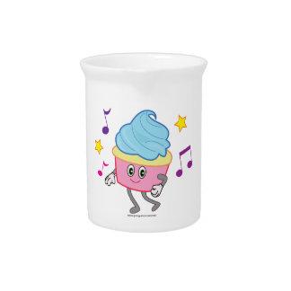 Dancing Cupcake Beverage Pitcher