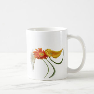 Dancing daisies coffee mug