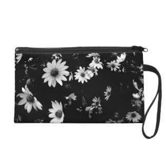 'Dancing Daisies'  Wristlet Purse