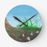 Dancing Dandelion Clocks