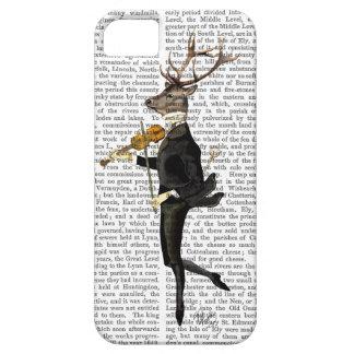 Dancing Deer with Violin iPhone SE/5/5s Case
