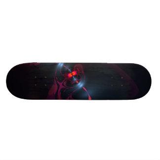 Dancing Devas – Violet & Salmon Sight Skateboard Deck