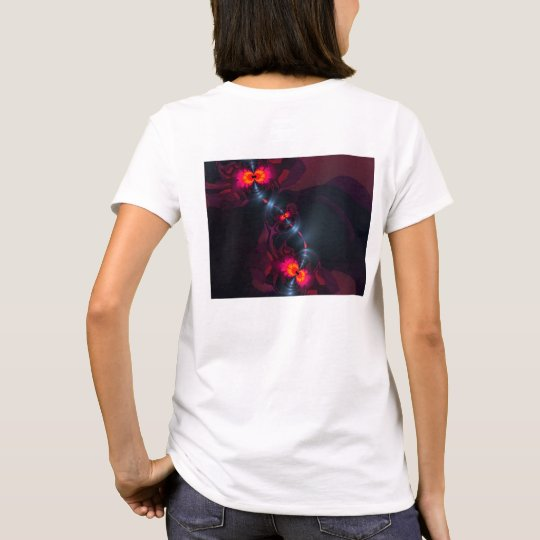 Dancing Devas – Violet & Salmon Sight T-Shirt