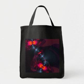 Dancing Devas – Violet & Salmon Sight Tote Bag