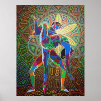 dancing digitally - 2012 poster
